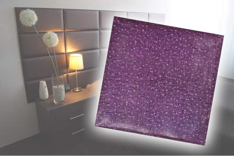 Декоративен панел от изкуствена кожа 25х25cm 11736 ЛИЛАВ