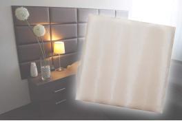 Декоративен панел от изкуствена кожа 12,5х12,5cm 21934 БЕЖОВ