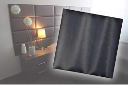Декоративен панел от изкуствена кожа 12,5х12,5cm 10525 БЯЛ
