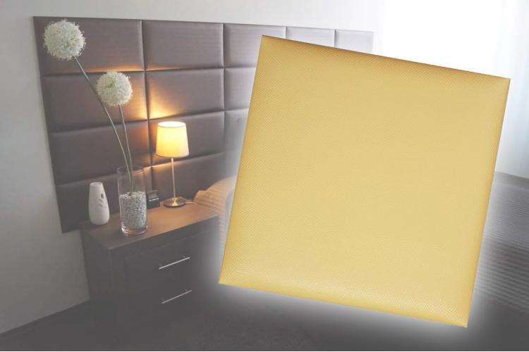 Декоративен панел от изкуствена кожа 50х50cm 41647 ЗЛАТЕН