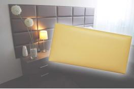 Декоративен панел от изкуствена кожа 25х12,5cm 41647 ЗЛАТЕН