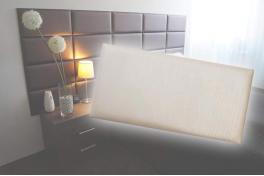 Декоративен панел от изкуствена кожа 25*12,5cm 13895 ШАМПАНСКО
