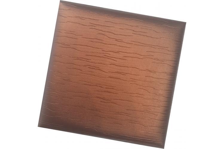 Декоративен панел от изкуствена кожа 50*50cm 13896 БАКЪР
