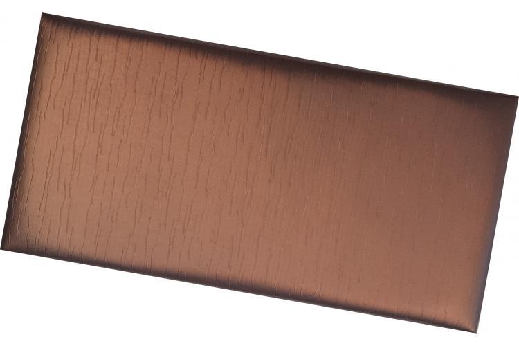Декоративен панел от изкуствена кожа 50*25cm 13896 БАКЪР