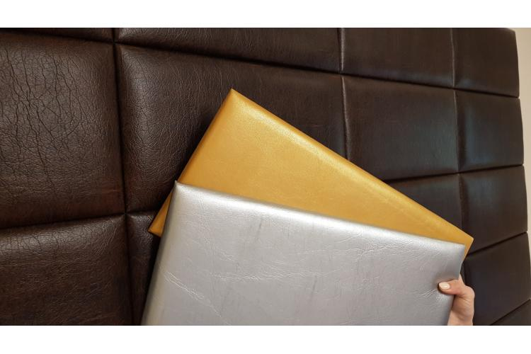 Декоративен панел от изкуствена кожа 50*25cm 13691 ЗЛАТО
