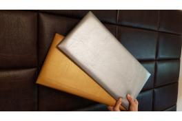 Декоративен панел от изкуствена кожа 25*12,5cm 13691 ЗЛАТО