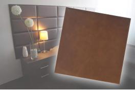 Декоративен панел от изкуствена кожа 25*25cm 567-09