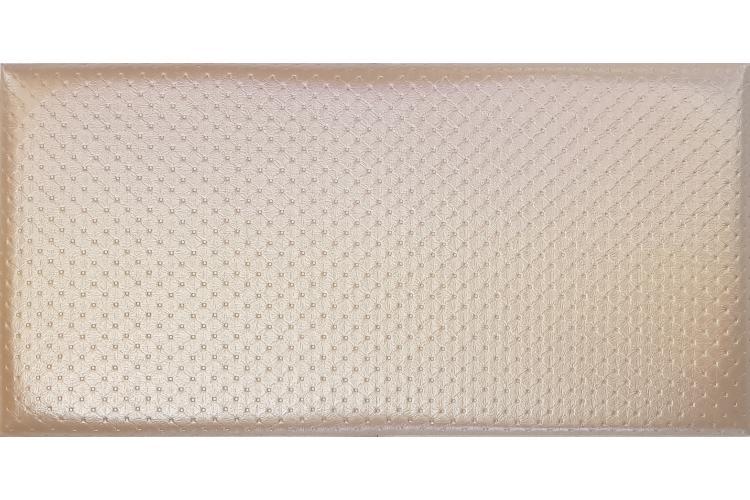 Декоративен панел от изкуствена кожа 25*12,5cm 78686 КРЕМ