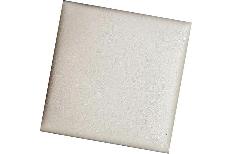 Декоративен панел от изкуствена кожа 12,5х12,5cm 90138 ЧЕРЕН