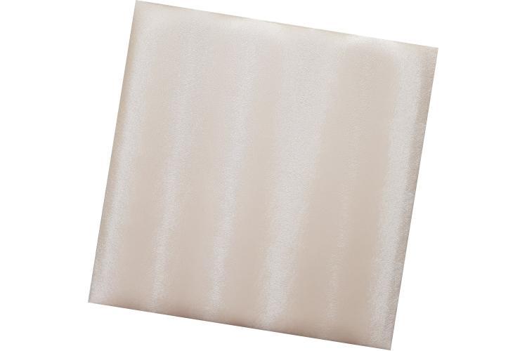 Декоративен панел от изкуствена кожа 25х25cm 10525 БЯЛ