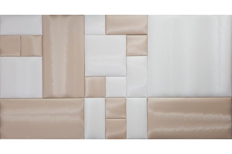 !!!СУПЕР ЦЕНА!!! Декоративен панел от изкуствена кожа 50х50cm 21934 ПУДРА