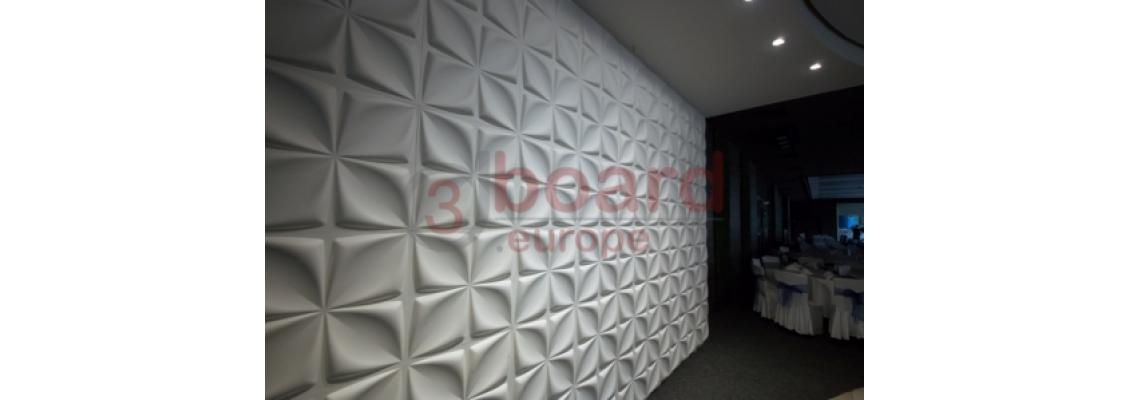 3d Wall panels use in the interior design