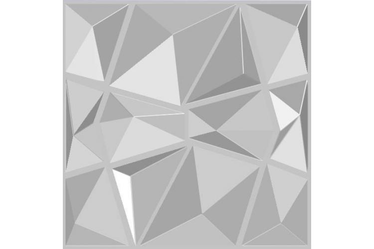 3D wall  panel Diamond  50/50