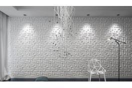 3D wall  panel Maze 50/50см