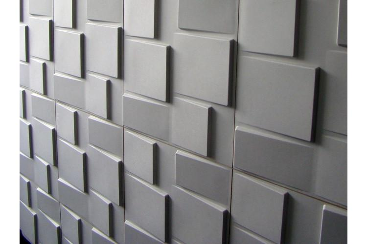3D wall  panel Rubik 50/50см