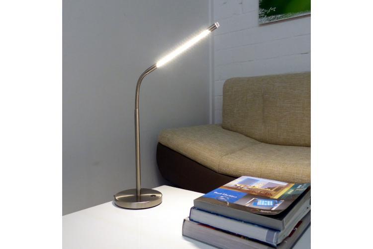 Настолна лампа 500812 мат хром