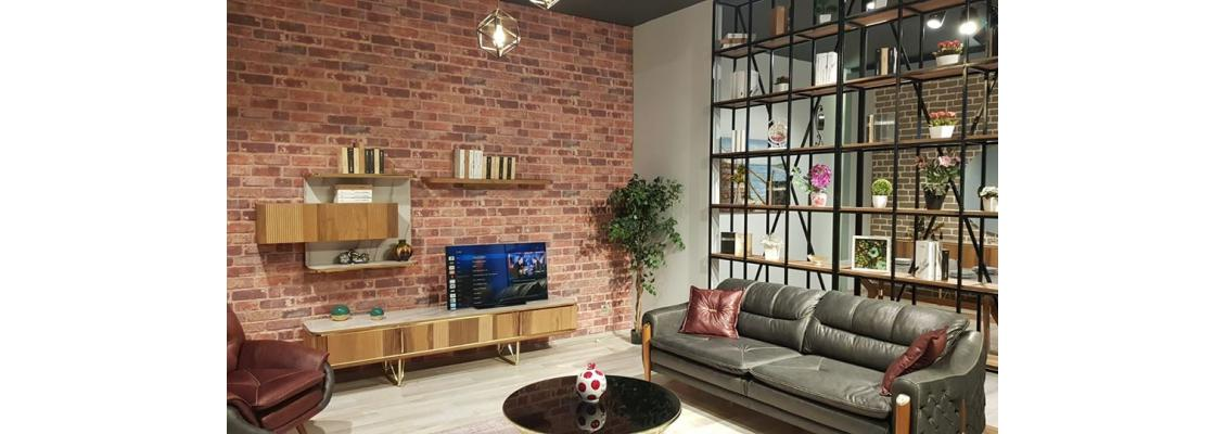 Create a classic brick wall with the 3d decorative wall panels from EPS fast and easy