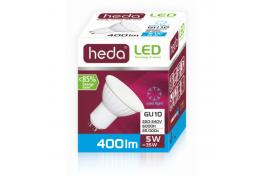 HEDA LED bulb 5W, GU10, cold light