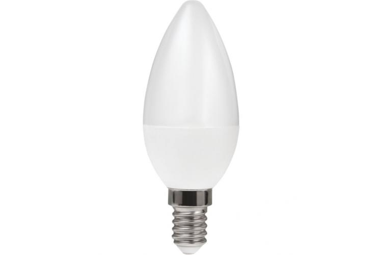 HEDA Led bulb cone 5W E14, cold light