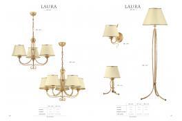 Лампион LAURA 518 - LA P 1x60W E27