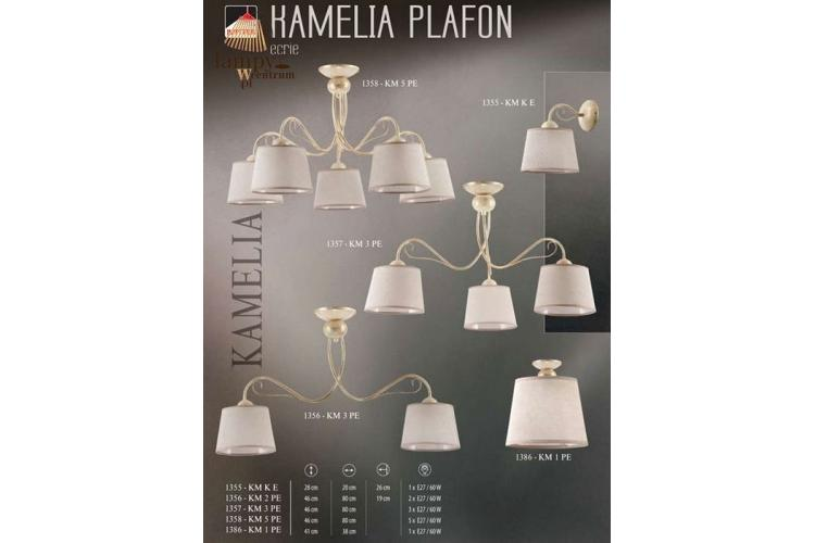 Плафон KAMELIA 1356 2x60W Е27