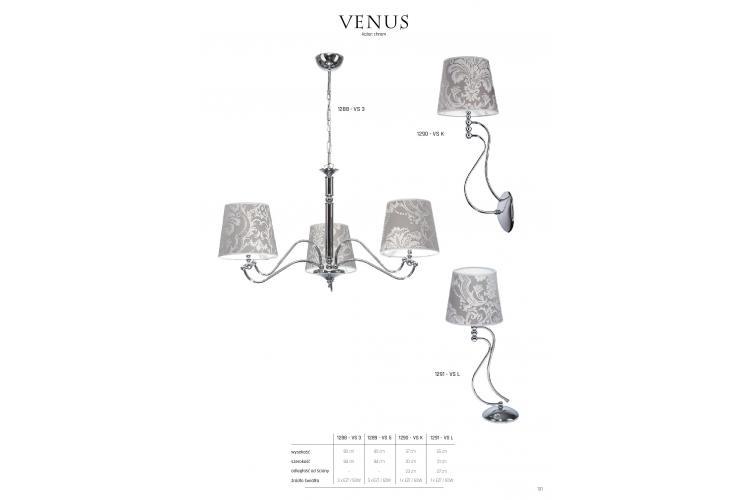 Полилей VENUS 1288 - VS 3 3x60W Е27