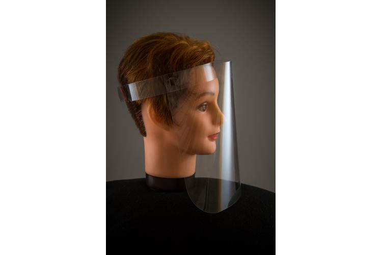 Защитен предпазен шлем за лице Пакет от 100 броя