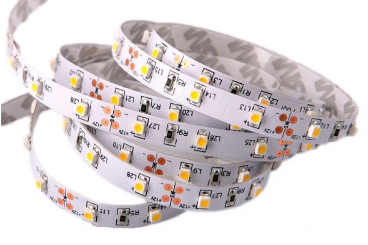 LED STRIP 5050 30 SMD/m WARM WHITE NON-WATERPROOF